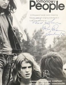 [Signed] Tomorrow's People, Jeremy Sandford and Ron Reid