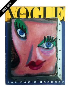 Vogue Paris by David Hockney