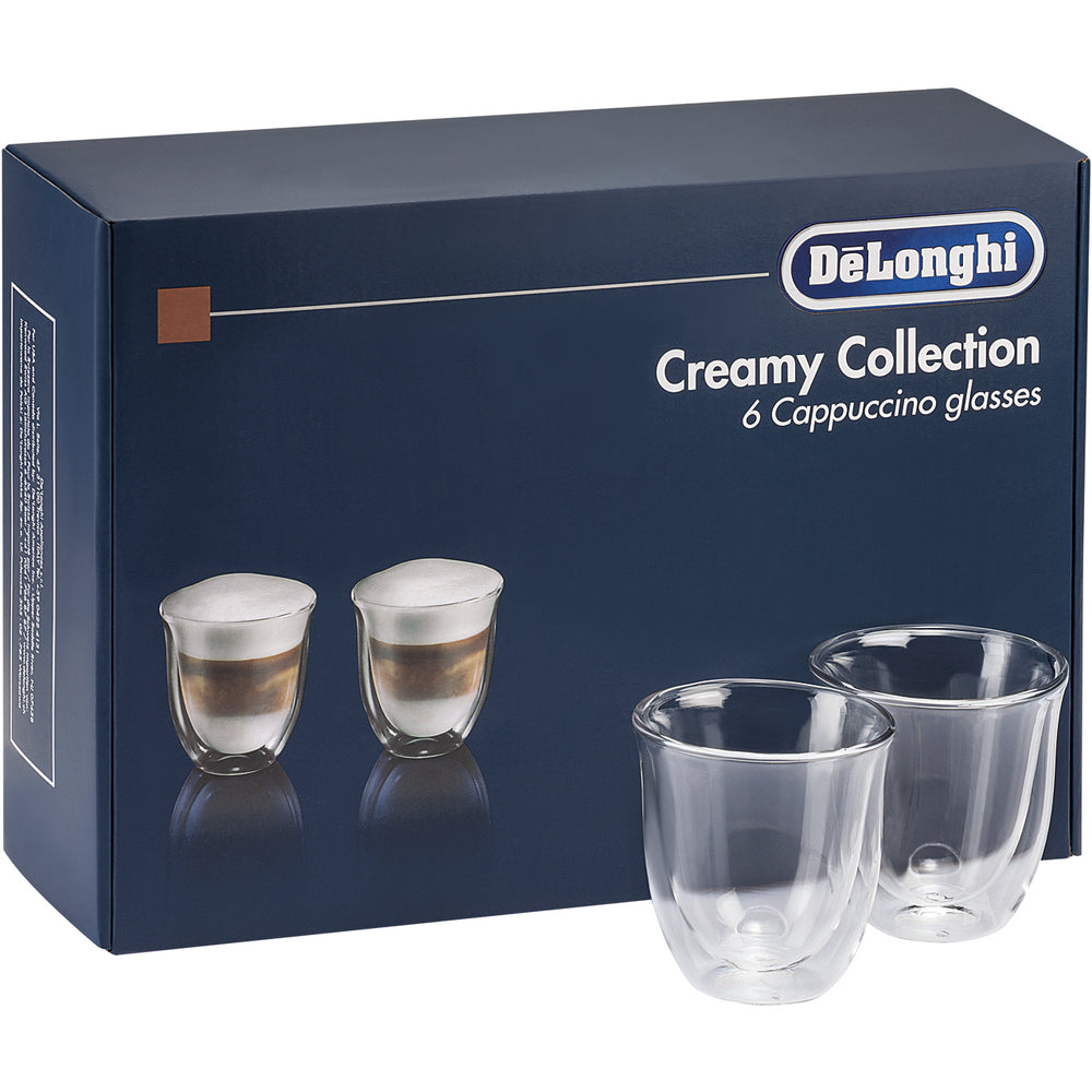 Delonghi čaše Creamy collection 190 ml (6 kom)