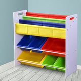 Wooden Kids Organizer