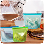 Reusable Silicone Bags - Home Insight