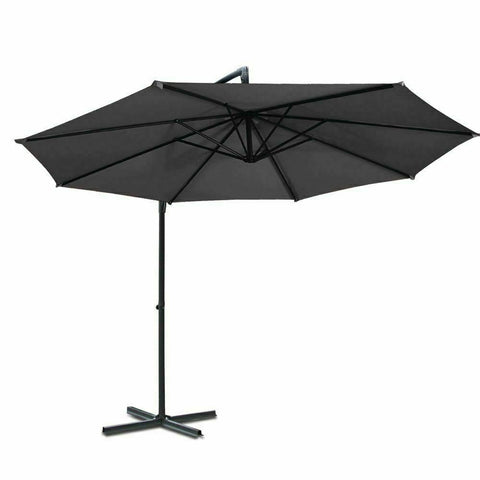 Cantilevered Outdoor Umbrella - Home Insight