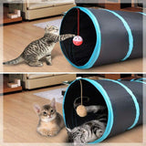 Portable 4-Way Cat Tunnel - Home Insight