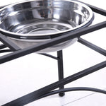 Stainless Steel Bowls with Stand - Home Insight