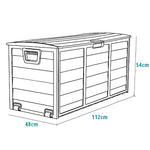Storage Chest with Wheels - Home Insight