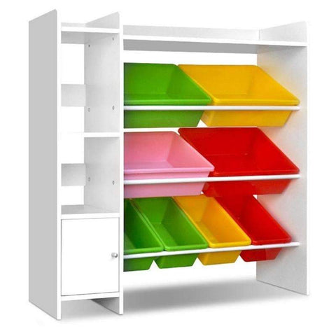 Children's Toy Storage with Removable Containers - Home Insight