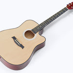 Wooden Acoustic Guitar - Home Insight