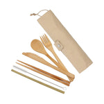 Bamboo Cutlery Set - Home Insight