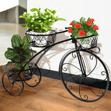 Bike Metal Plant Shelf - Home Insight