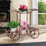 Metal Plant Shelf for 6 Pots