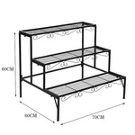 Metal Plant Shelf - Home Insight