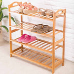 Bamboo Storage Rack - Home Insight