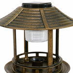 Bird Bath with Solar Light - Home Insight