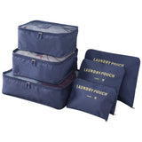 Travel Storage Bags (Set of 6) - Home Insight