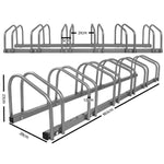Bike Parking Rack (3-6) - Home Insight