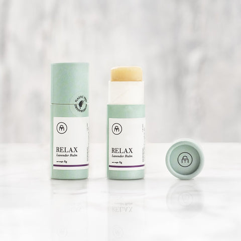 RELAX Coconut oil lip balm
