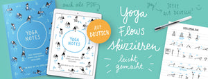 Yoga Sketchnotes, books, posters and pins Online - Evalotta.shop