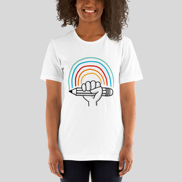 T-Shirt – Sketching Rainbow - Eva-Lotta's Shop
