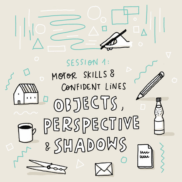 Pragmatic Sketching Masterclass Series – Live online classes (English) - Eva-Lotta's Shop