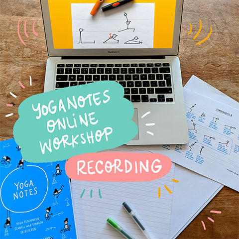 Yoganotes Online Workshop – Recording (English) - Eva-Lotta's Shop