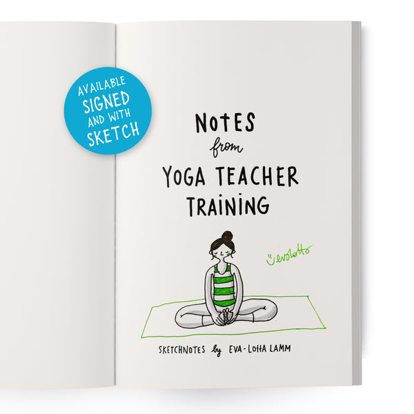 Notes from Yoga Teacher Training – Printed version