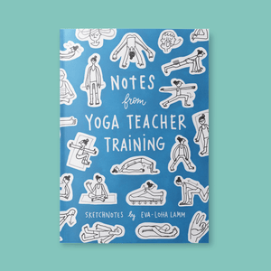 Notes from Yoga Teacher Training – Printed version (English) - Eva-Lotta's Shop