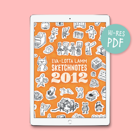 Sketchnotes 2012 – PDF version - Eva-Lotta's Shop