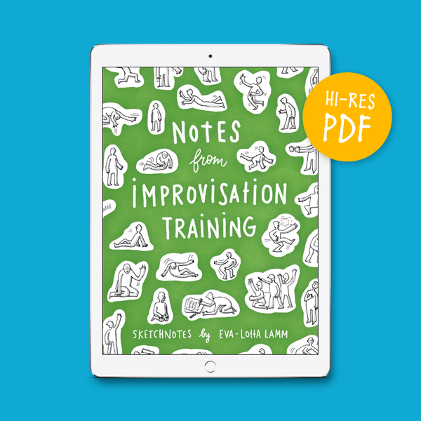 Notes from Improvisation Training – PDF version (English) - Eva-Lotta's Shop