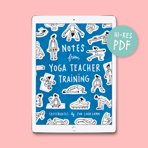 Notes from Yoga Teacher Training – PDF version - Eva-Lotta's Shop