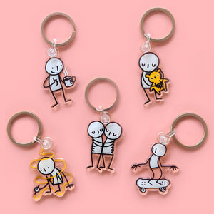 Little People Keyrings – Different designs