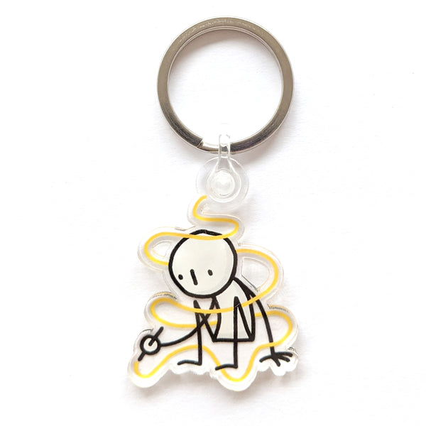Little People Keyrings – Different designs - Eva-Lotta's Shop