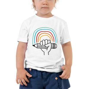 Kids T-Shirt – Sketching Rainbow - Eva-Lotta's Shop