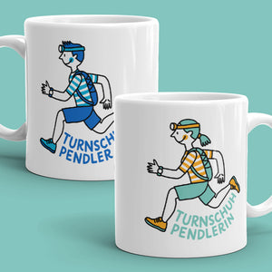 Mug / Tasse – Runner (Man or Woman) / TurnschuhpendlerIn - Eva-Lotta's Shop