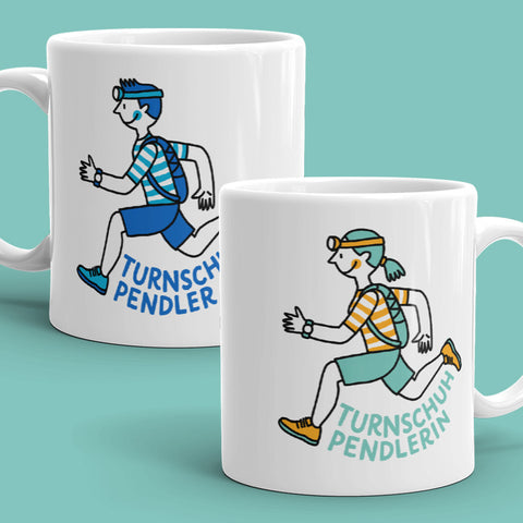 Mug / Tasse – Runner (Man or Woman) / Turnschuhpendler - Eva-Lotta's Shop