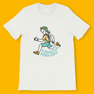 T-Shirt Runner (Woman) / Turnschuhpendlerin - Eva-Lotta's Shop