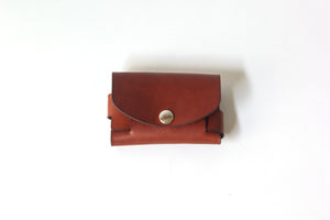 Custom Leather Wallet, Business Card Holder