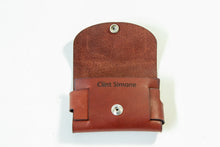 Load image into Gallery viewer, Custom Leather Wallet, Business Card Holder