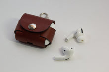 Load image into Gallery viewer, Leather AirPods Pro Case with Keyring
