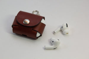 Leather AirPods Pro Case with Keyring