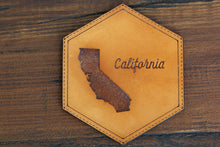 Load image into Gallery viewer, Custom Home Sweet Home Leather Coasters