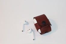 Load image into Gallery viewer, Custom Leather AirPods Case