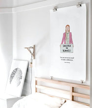 Load image into Gallery viewer, Greta Thunberg, Empowering and Inspiring Women Original Art Print