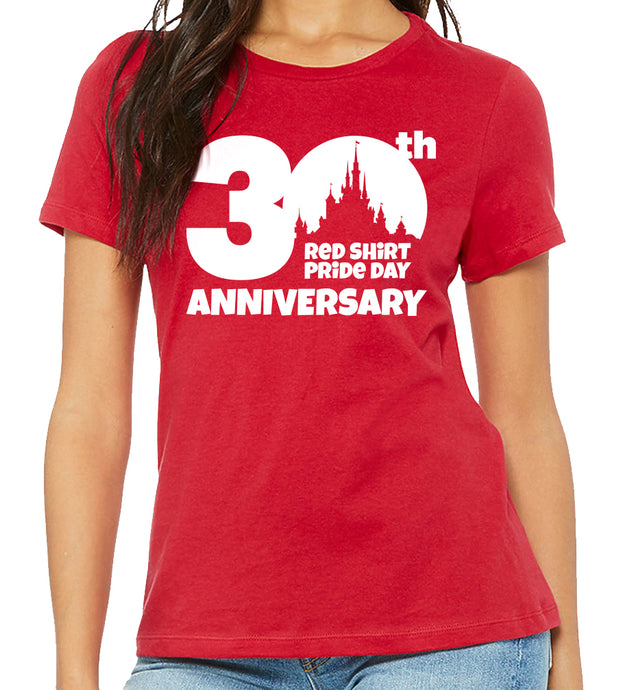 30thAnniversary - RED SHIRT PRIDE DAY