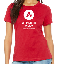 Load image into Gallery viewer, Athlete Ally - RED SHIRT PRIDE DAY
