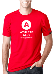 Athlete Ally - RED SHIRT PRIDE DAY