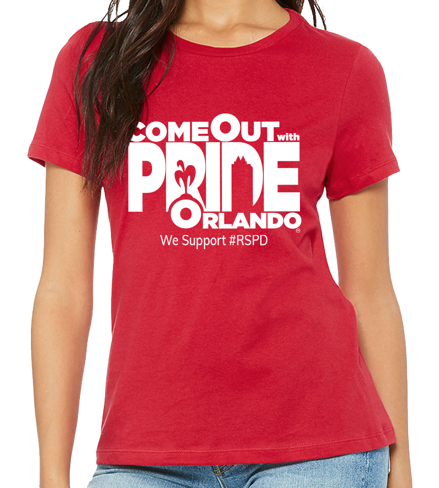 Come Out With Pride - RED SHIRT PRIDE DAY