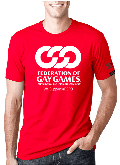 Gay Games - RED SHIRT PRIDE DAY