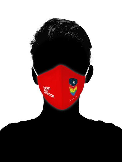 Outserve - RED SHIRT PRIDE DAY MASKS