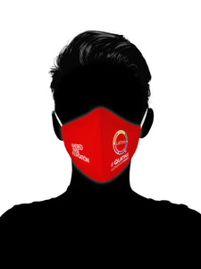 QLatinx - RED SHIRT PRIDE DAY MASKS