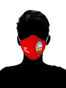 Space Coast Pride - RED SHIRT PRIDE DAY MASKS